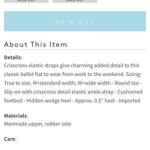 Jessica Simpson Shoes - Jessica Simpson Mandayss Ballet Flat